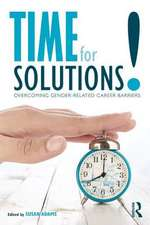 TIME FOR SOLUTIONS