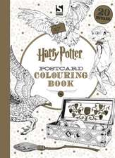 Harry Potter Postcard Colouring Book