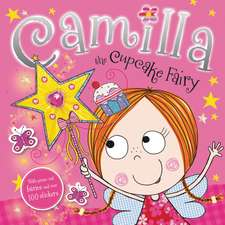Press Out Sticker:  Camilla the Cupcake Fairy
