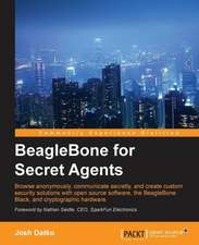 Beaglebone for Secret Agents:  Second Edition