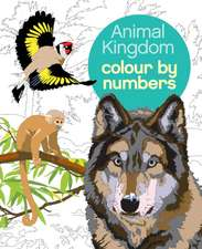 COLOUR BY NUMBER ANIMAL KINGDOM