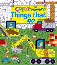 Color by Numbers: Things That Go