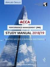 ACCA Performance Management Study Manual 2018-19