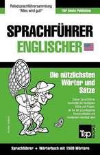 Sprachfuhrer Deutsch-Englisch Und Kompaktworterbuch Mit 1500 Wortern
