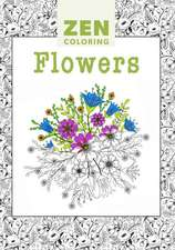 Flowers: Zen Coloring