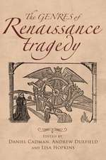 Genres of Renaissance Tragedy