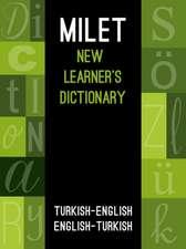 Milet New Learners Dictionary: Turkish - English / English - Turkish