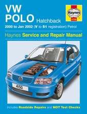 VW Polo Hatchback Petrol (00 - Jan 02) Haynes Repair Manual