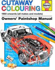Cutaway Colouring 1960 Onwards (All Makes and Models):  1939 Onwards (All Marks)