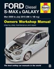 Ford S-MAX & Galaxy Diesel (Mar 06 - July 15) Haynes Repair Manual