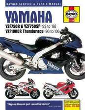 Yamaha YZF750R Motorcycle Repair Manual