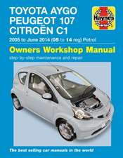 Toyota Aygo, Peugeot 107 & Citroen C1 Petrol ('05-June'14) 05 To 14