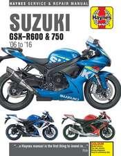 Suzuki GSX-R600 & 750 (06 - 16) Haynes Repair Manual