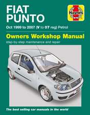 Fiat Punto Petrol Owners Workshop Manual