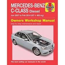 Mercedes-Benz C-Class Diesel (Jun 07 - Feb 14) 07 to 63 Haynes Repair Manual