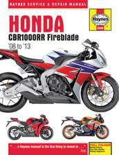 Honda Cbr1000rr Fireblade '08 to '13
