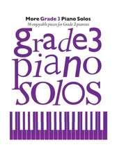 More Grade 3 Piano Solos