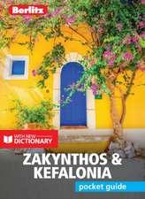 Berlitz Pocket Guide Zakynthos & Kefalonia (Travel Guide with Dictionary)