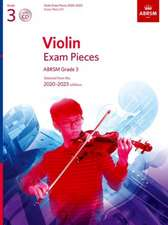 Violin Exam Pieces 2020-2023, ABRSM Grade 3, Score, Part & CD: Selected from the 2020-2023 syllabus