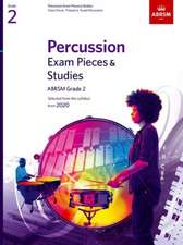 Percussion Exam Pieces & Studies, ABRSM Grade 2: Selected from the syllabus from 2020