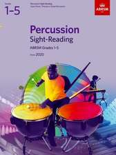 Percussion Sight-Reading, ABRSM Grades 1-5: from 2020