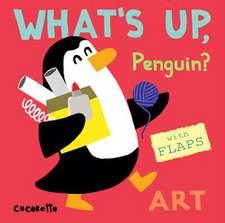 What's Up Penguin?: Art
