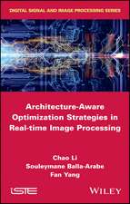 Architecture–Aware Optimization Strategies in Real–time Image Processing