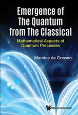 Emergence of the Quantum from the Classical