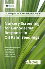 Nursery Screening for <i>Ganoderma</i> Response in Oil Palm Seedlin