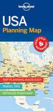 Lonely Planet USA Planning Map