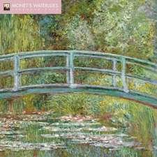 Monet's Waterlilies Wall Calendar 2019 (Art Calendar)