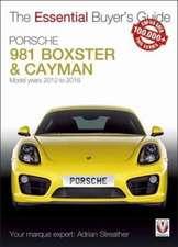 Porsche 981 Boxster & Cayman