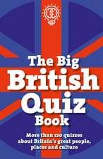 QUIZ BOOK THE BIG BRITISH