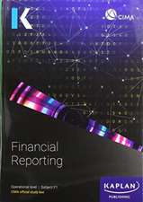 F1 FINANCIAL REPORTING - STUDY TEXT
