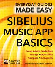 Sibelius Music App Basics