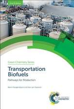 Transportation Biofuels: Pathways for Production