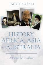 History of Africa, Asia and Australia