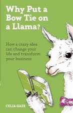 Why Put a Bow Tie on a Llama?