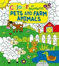 COLOUR BY NUMBERS PETS AND FARM AN