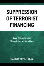 SUPPRESSION OF TERRORIST FINANCB