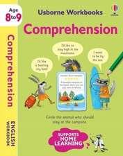 USBORNE WORKBOOKS COMPREHENSION 8 9
