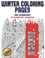Adult Coloring Books (Winter Coloring Pages)