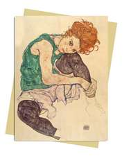 Egon Schiele: Seated Woman Greeting Card: Pack of 6