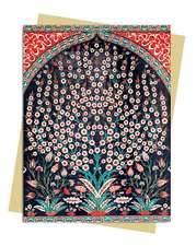 Turkish Wall Tiles Greeting Card: Pack of 6