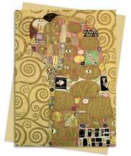 Fulfilment (Klimt) Greeting Card: Pack of 6