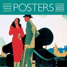 English Travel Posters Wall Calendar 2022 (Art Calendar)