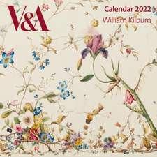 V&A - William Kilburn Wall Calendar 2022 (Art Calendar)