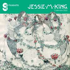 Glasgow Museums: Jessie M. King Wall Calendar 2022 (Art Calendar)