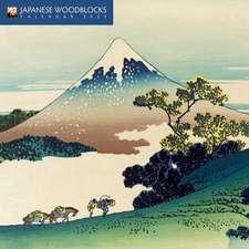 Japanese Woodblocks Mini Wall calendar 2022 (Art Calendar)
