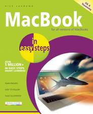 MacBook in easy steps: Covers OS X Yosemite (10.10)